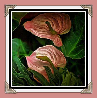 Longwood Lilies Poster by Trish Tritz