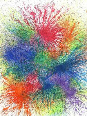 Look For The Rainbow When It Rains #445 Poster by Rainbow Artist Orlando L aka Kevin Orlando Lau