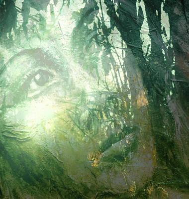 Look Well Into Thy Spirit Poster by Zoe Oakley