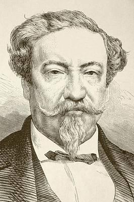 Lorenzo Montufar Y Rivera, 1823 To Poster by Vintage Design Pics