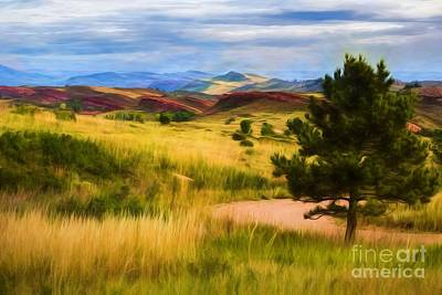 Lory State Park Impression Poster by Jon Burch Photography