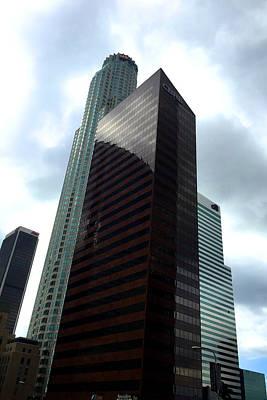 Los Angeles Bank Buildings Poster