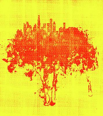 Los Angeles California Cityscape 1a Poster