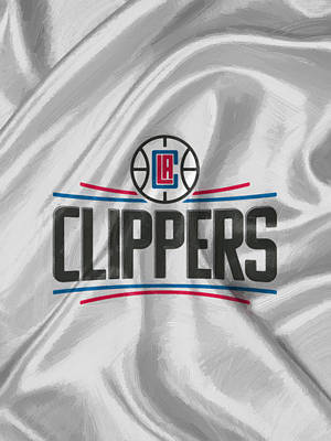 Los Angeles Clippers Poster by Afterdarkness