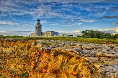 Los Morillos Lighthouse - Los Morillos - Cabo Rojo - Puerto Rico Poster by Photography  By Sai