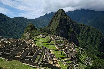 Lost City Of The Incas - Machu Picchu Poster