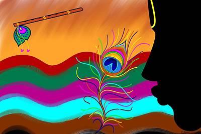 Lost In Krishna Poster by Pratyasha Nithin
