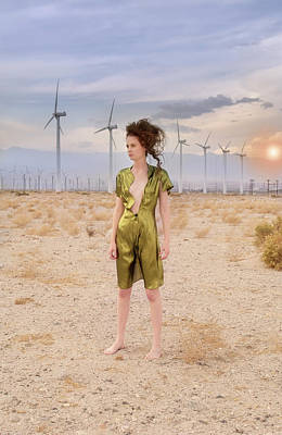 Lost In The Desert Poster by Amyn Nasser