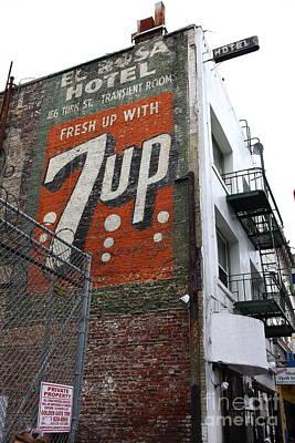 Lost In Urban America - El Rosa Hotel - Tenderloin District - San Francisco California - 5d19351 Poster
