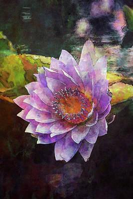 Lost Lavender Lotus Blossom 4725 Ldp_2 Poster