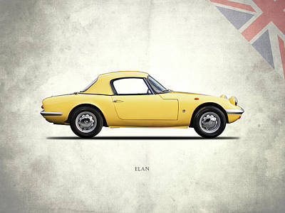 Lotus Elan 1963 Poster by Mark Rogan