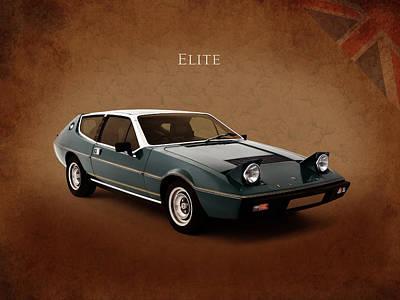 Lotus Elite 1974 Poster by Mark Rogan