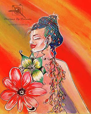 Lotus Flower Bomb Poster