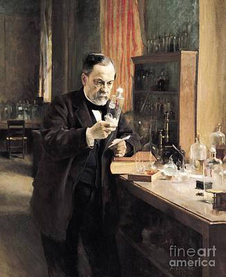 Louis Pasteur Poster by Albert Gustaf Aristides Edelfelt
