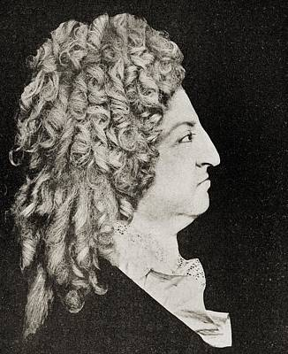 Louis Xiv Of France In 1796 From The Poster by Vintage Design Pics