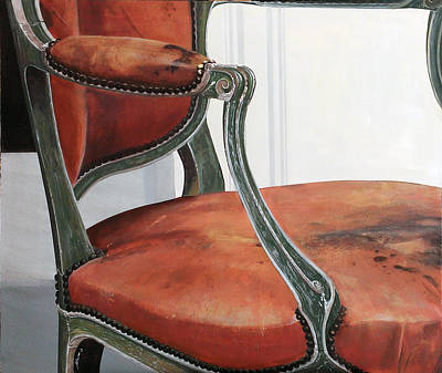 Louis Xv Fauteuil Poster by Michael Bolton