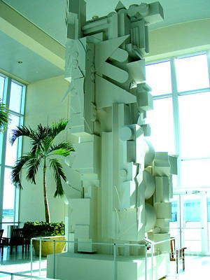 Louise Nevelson Sculpture Poster