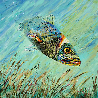 Louisiana Speckled Poster