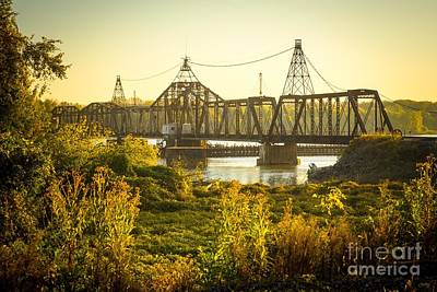 Louisiana Swing Bridge Poster by Imagery by Charly