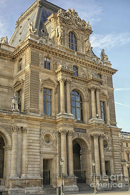 Louvre In Paris Poster