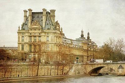 Louvre Museum Poster by Joan Carroll