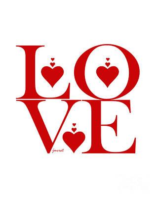 Extraordinary Valentine Love M36 Poster
