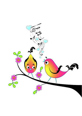 Love Bird Serenade Poster