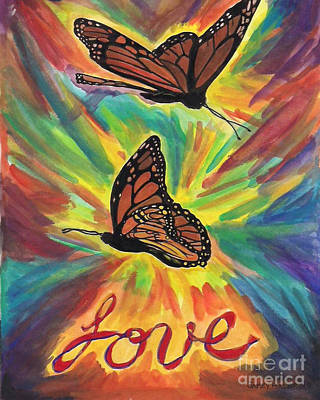 Love Butterflies Poster by Jamey Balester