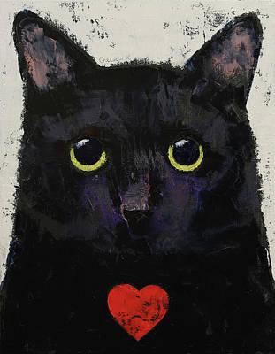 Love Cat Poster