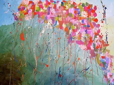 Love Flower Mountain Poster