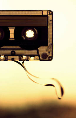 Love Is A Mixed Tape Poster by Taryn