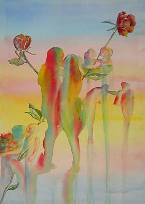 Love Is Eternal Poster by Debbie Lewis
