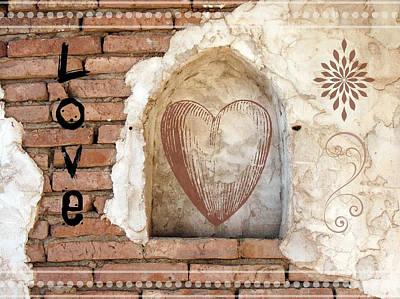 Love Poster by Lisa S Baker
