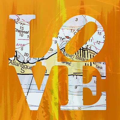 Love Long Island V1 Poster by Brandi Fitzgerald