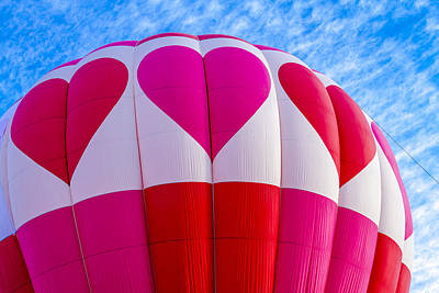 Love Of Hot Air Balloons Poster by Teri Virbickis