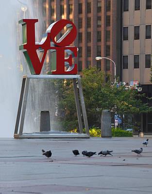 Love Park - Center City Philadelphia Poster