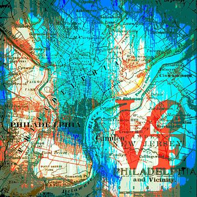 Love Philadelphia Poster