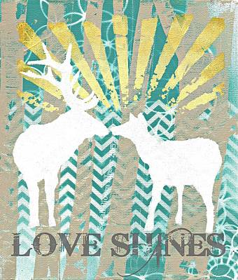Love Shines Poster by Sarah  Bloom Kinser