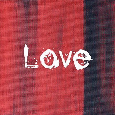 Love Poster by Kathleen Wong