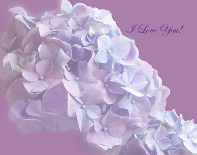 Love You Greetingcard Poster