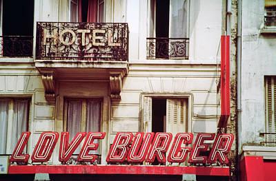 Loveburger Hotel Poster