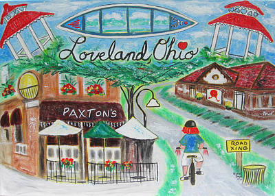 Loveland Ohio Poster by Diane Pape