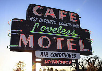 Loveless Cafe And Motel Nashville Poster by David M Porter