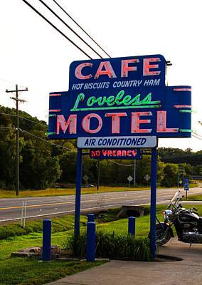 Loveless Cafe Sign Poster