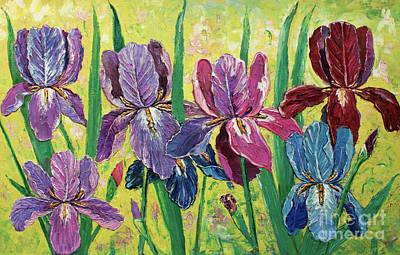 Lovely Garden Poster by Kristian Leov