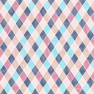 Lovely Geometric Pattern Vi Poster