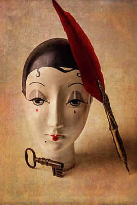 Lovely Old Antique Doll Poster by Garry Gay