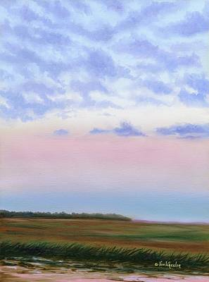 Low Country Clouds Poster by Eve  Wheeler