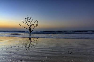 Low Tide Calm - Botany Bay Poster by Rick Berk