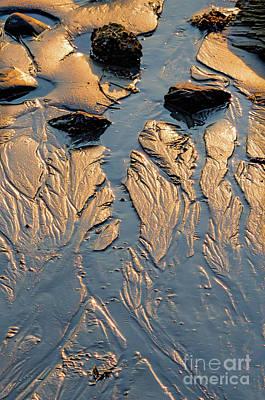 Low Tide Flow, Kettle Cove, Cape Elizabeth, Maine  -66557 Poster
